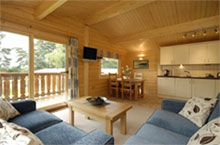 log cabin holidays for couples